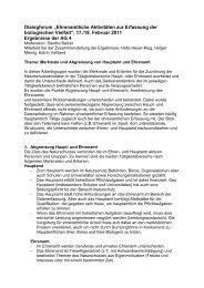 Merkmale und Abgrenzung von Hauptamt und Ehrenamt