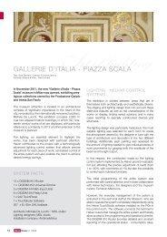 GALLERIE D'ITALIA - PIAZZA SCALA - Helvar