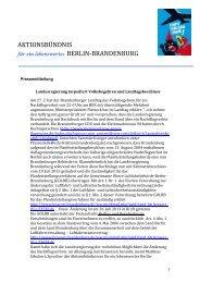 Pressemitteilung des ABB hier lesen - ProblemBER-Kampagne