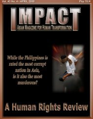 Php 70.00 Vol. 43 No. 4 • APRIL 2009 - IMPACT Magazine Online!
