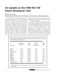 An Update on the 1994 NC-140 Peach Rootstock Trial