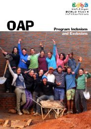Program Inclusio and Exclusio OAP Program Inclusions and ...