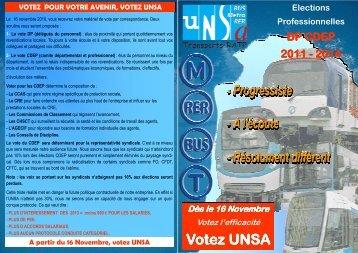 liste DP A3 - UNSA