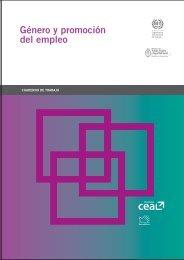 Género y promoción del empleo - Oit