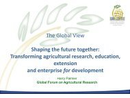 The Global View Shaping the future together ... - ERA ARD