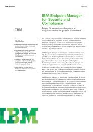 IBM Endpoint Manager for Security and Compliance