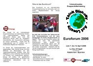 Euroforum 2006 - KjG Mainz