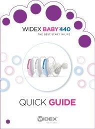 Quick Guide - Widex