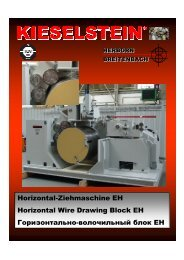 Horizontal-Ziehmaschine EH Horizontal Wire Drawing Block EH ...