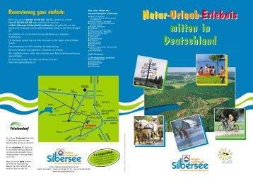 Download Prospekt (pdf) - Ferienwohnpark Silbersee