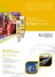ECTestr®11 Series - Eutech