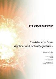Clavister cOS Core Application Control Signatures - FTP Directory ...