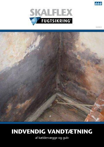 Læs mere om indvendig vandtætning af kælder og gulv - Skalflex