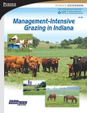 Management-Intensive Grazing in Indiana - Purdue Extension ...