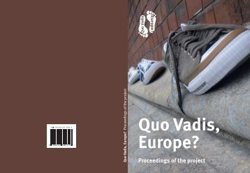 QUO VADIS, EUROPE? Proceedings of the project