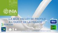 LA MILK VALLEY SE PROFILE A L'OUEST DE LA FRANCE - Inra