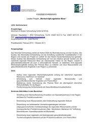 Wertschöpfungsfaktor Moor - Raumplanung Steiermark
