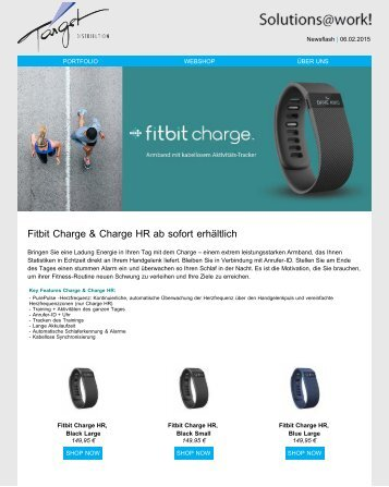 Fitbit Charge & Charge HR