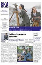 Berner Kulturagenda 2015 N°7