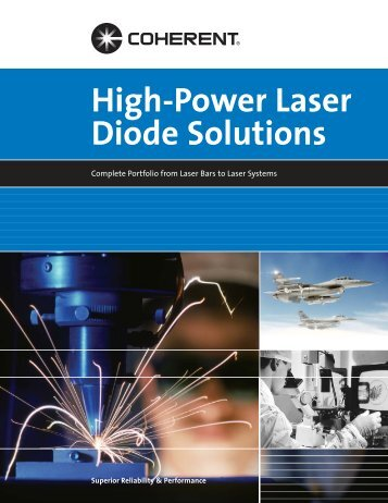 High-Power Laser Diode Solutions - Lasertrack.ru