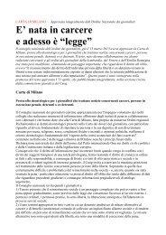Leggi la Carta di Milano - Carte Bollate