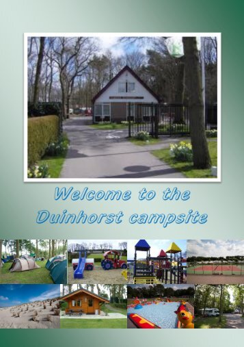 Spend Your Holiday At The Duinhorst Campsite - Camping Duinhorst