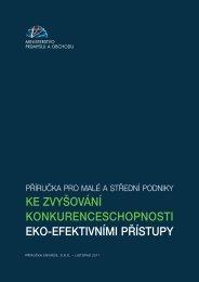 Příručka - Ministerstvo průmyslu a obchodu