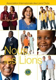 Brochure - Lions Clubs International - MD 112 Belgium