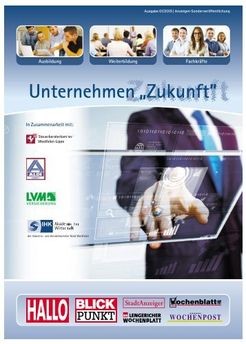 Unternehmen Zukunft 01/2015 Ahlen/Warendorf/Telgte