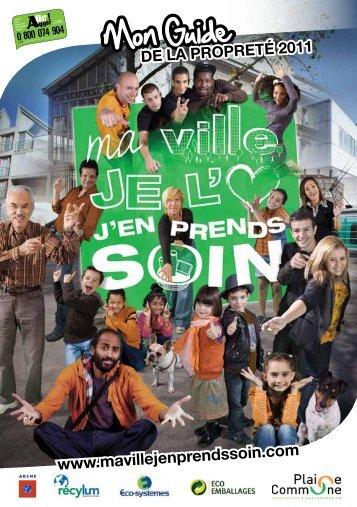 Guide de la propreté 2011 - Ville de Stains