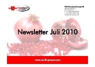 Newsletter Juli 2010 - Würth Promotional Concepts AG