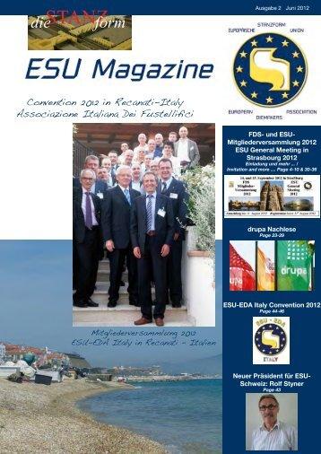 ESU Mitgliederversammlung 2012