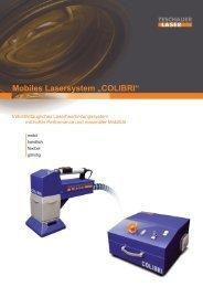 "Mobiles Lasersystem ""COLIBRI"""