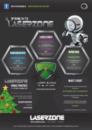 September Newsletter - Laserzone