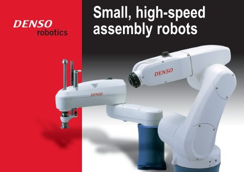 Denso Robots and Specifications - Cincinnati Automation