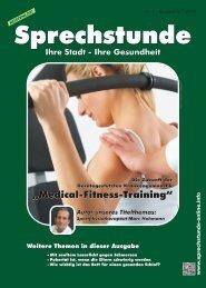 Sprechstunde Nr. 1 - Ausgabe III / 2012