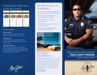 Download the brochure - Chicago Police Sergeants' Association