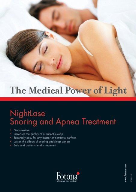 """Nightlase"" leaflet - Laser Treatment Clinics"