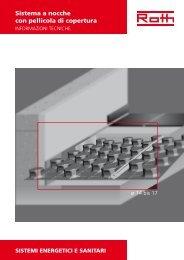 Sistema a nocche con pellicola di copertura - Roth Industries Italia
