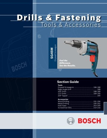 Drills & Fastening - Piti Group