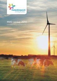 FrieslandCampina MVO-verslag 2013