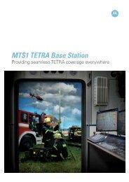 MTS1 TETRA Base Station