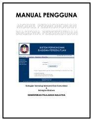 Manual Pengguna Pegawai JPN - Kementerian Pelajaran Malaysia