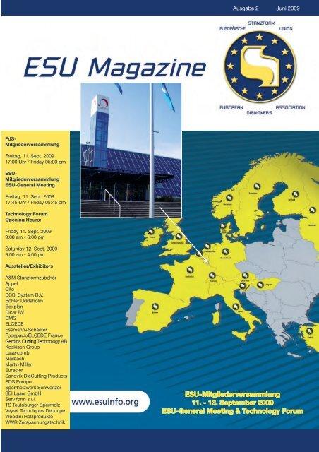 Ausgabe 2 Juni 2009 - ESU
