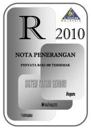 Nota Penerangan R 2010 - Lembaga Hasil Dalam Negeri