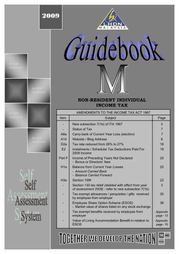 non-resident individual income tax - Lembaga Hasil Dalam Negeri