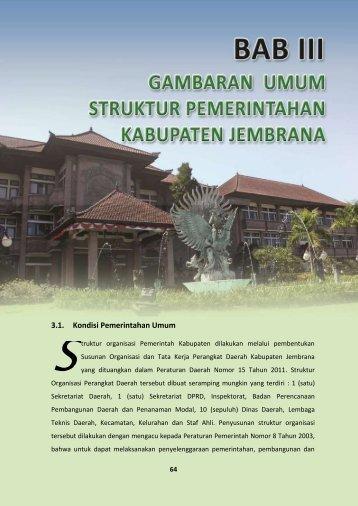 Bab III Gambaran Umum Struktur Pemerintahan