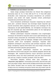 21. pemberdayaan masyarakat dan desa - Pemerintah Kabupaten ...