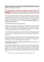 Restitution - Plateforme societal - Génopole Toulouse Midi-Pyrénées
