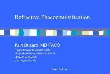 Refractive Phacoemulsification - Buzard.info